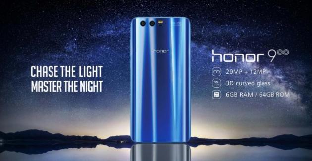 Honor 9 se lanseaza si pe piata din Vest la pretul de 450 de euro