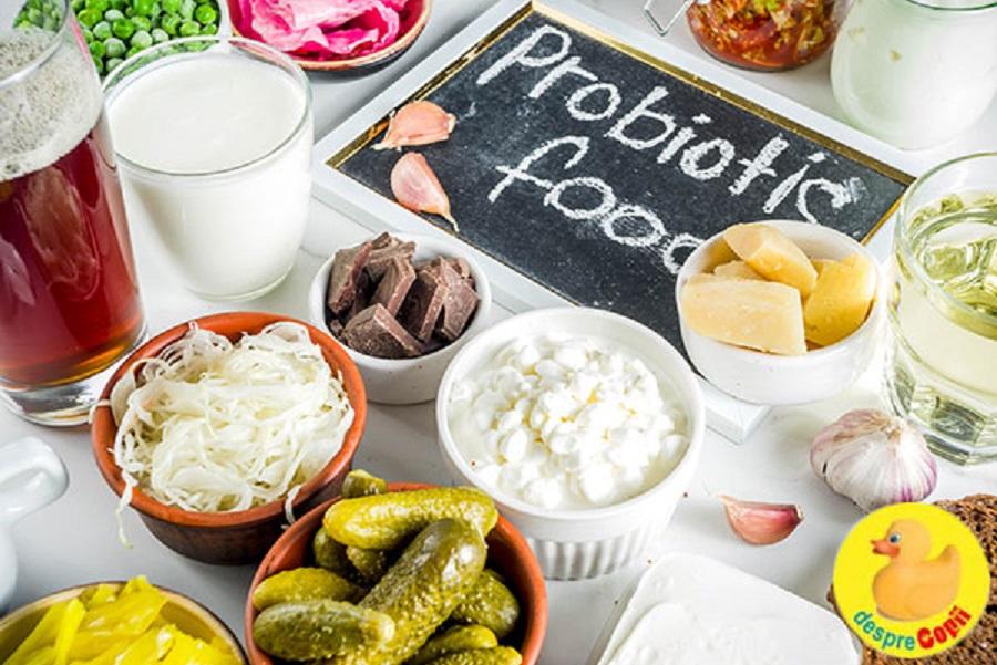 Exemple de probiotice