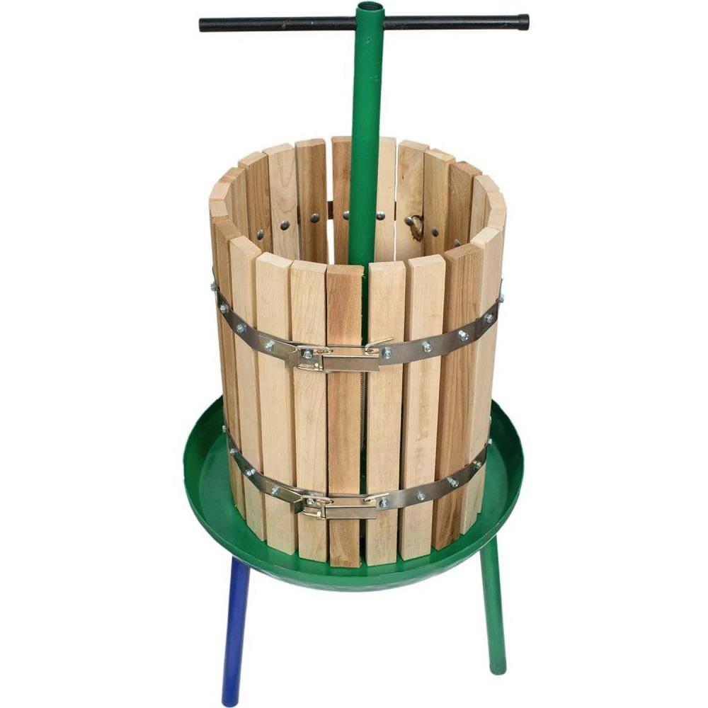 Teasc și zdrobitor struguri din lemn pentru cel mai bun vin
